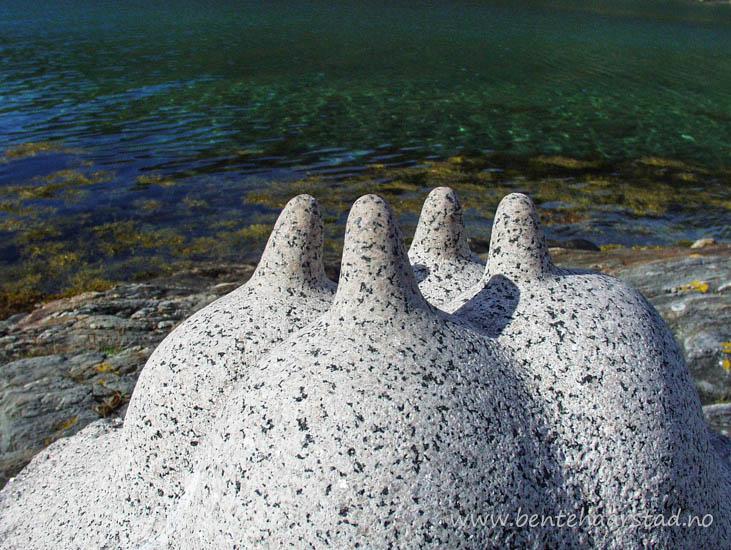 Skulpturpark Nordland, i Vendesund, Sømna kommune