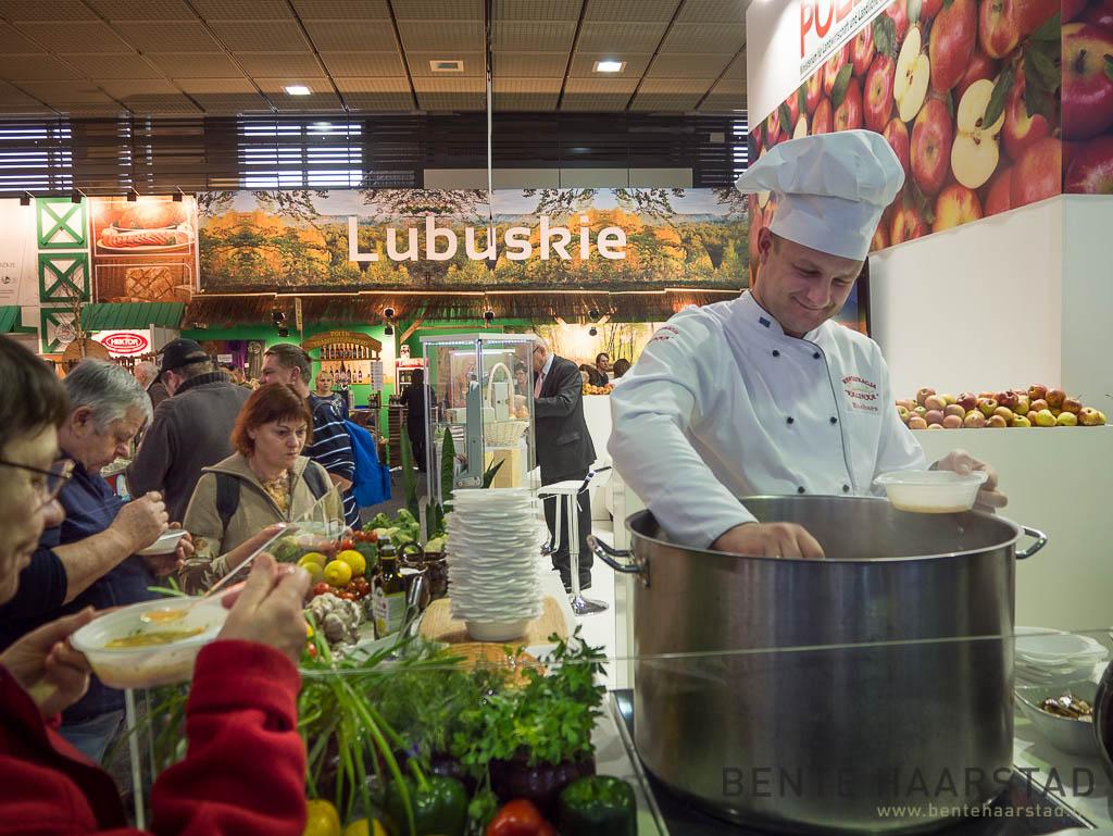 Soup from Poland, Grüne Woche, Berlin 2015.