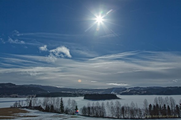 Solar eclipse Norway